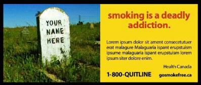 пачка сигарет в Канаде