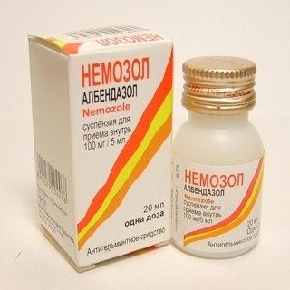 суспензия албендазола