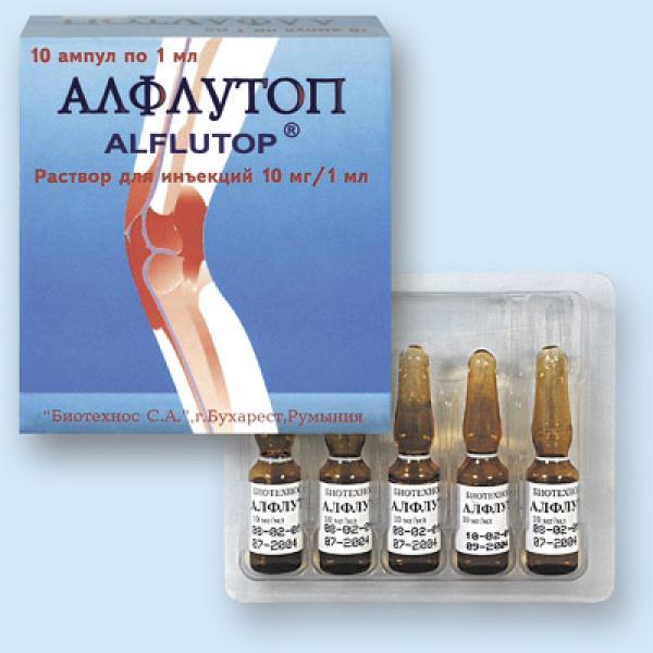 Алфлутоп для лечения суставов при остеоартрозе