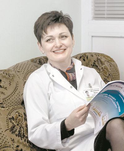 кандидат медицинских наук, врач-гастроэнтеролог высшей квалификационной категории Ирина Шоломицкая